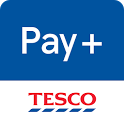 Tesco Pay+ for simple checkout icon