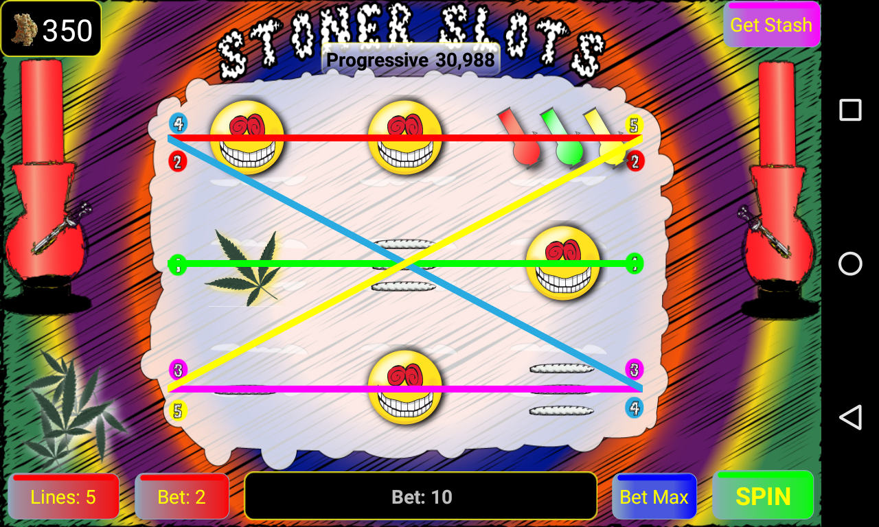 Stoner Slots: Progressive Weed- screenshot