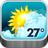 Animated Weather Widget, Clock APK baixar