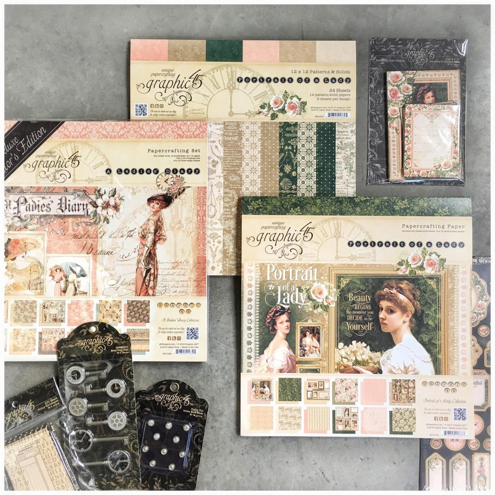 (Fb prize taken)Mother Day Prize Pack $100+ value, Portrait of a Lady, Paper Pad, Staples, Ladies Diary, Deluxe Collector's Edition, Facebook Contest, 4/28/2017.jpeg