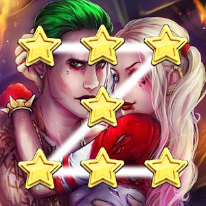 Joker and harley Pattern Lock Screen
