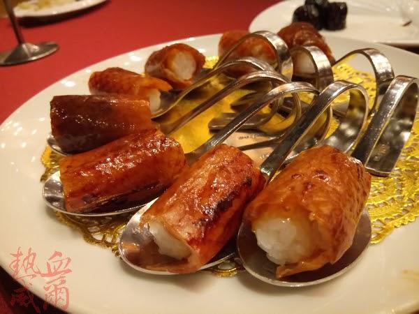 食記:三訪。櫻桃鴨五吃~蘭城晶英酒店(紅樓中餐廳)