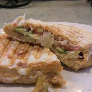 Avocado Reuben Sandwich.