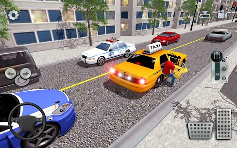 City Taxi Driving simulator: online Cab Games 2020 10