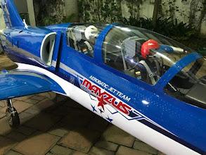Photo: 1:2,7     L 39 Albatros     Emilio Bruzzone  Equador  Emilio ist geradezu Überwältigt von der L39 und euren super Scalepiloten . Nochmals vielen Dank für die tolle Umsetzung der Extrawünsche . Thomas Reiter