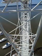 Photo: The Wheel's latticework.