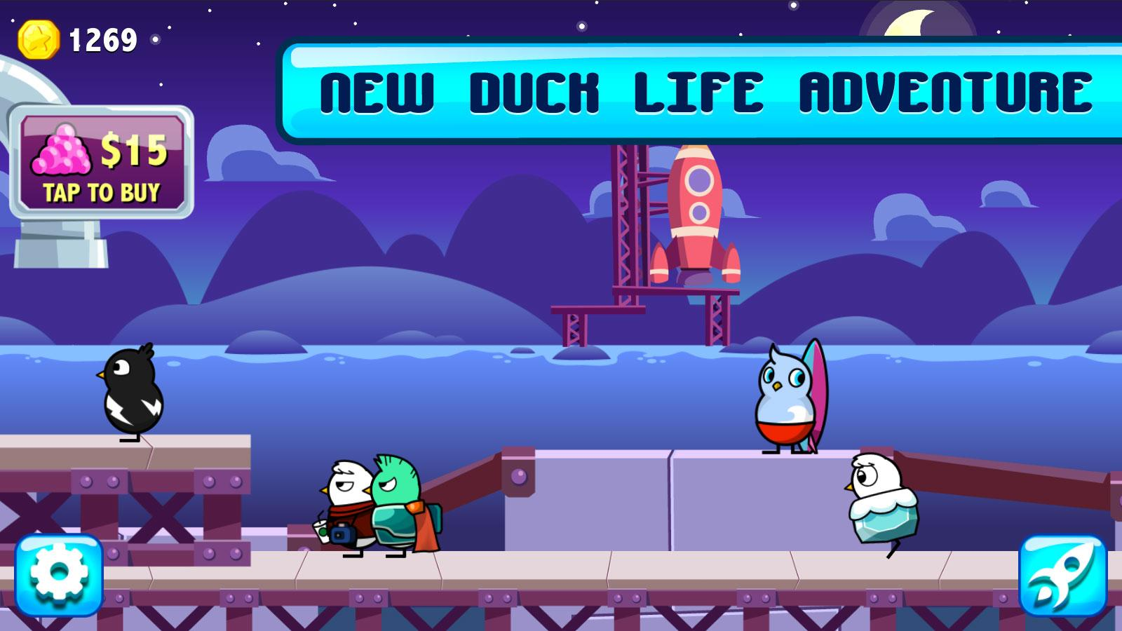 Duck Life: Space- screenshot