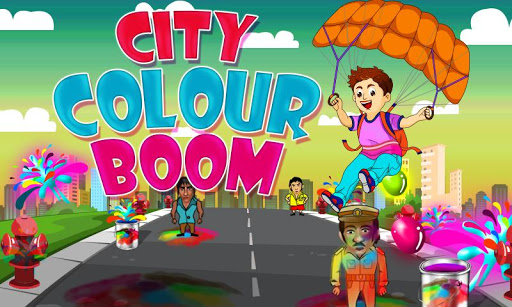 City Color Boom- The Holi Game 1.0 screenshots 1