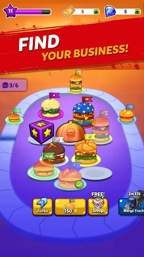 Merge Burger: Food Evolution Cooking Merger 1.0.94 screenshots 3