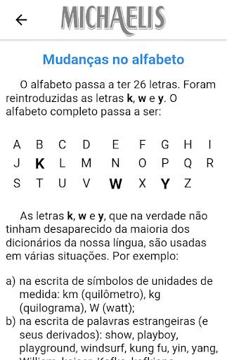 Michaelis Guia Prático da Nova Ortografia 1.0.4 screenshots 2