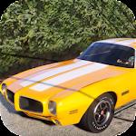 Car Parking Pontiac Firebird Simulator icon