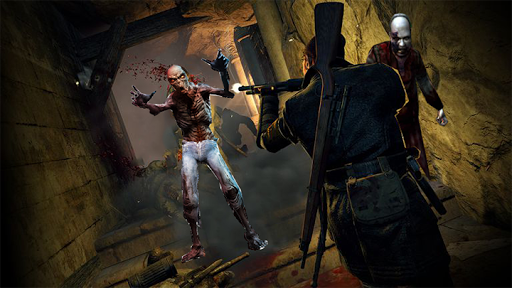 Télécharger Gratuit Des Zombies Morts Ciblent Un Assassin  APK MOD (Astuce) screenshots 1