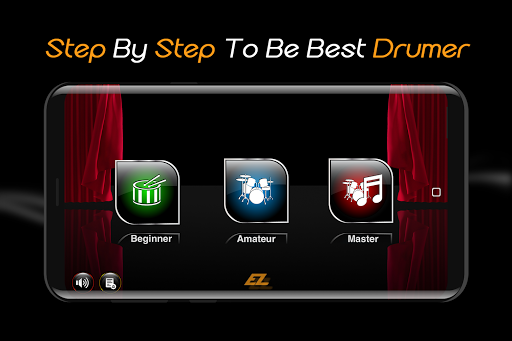Easy Real Drums-Real Rock and jazz Drum music game  screenshots 1