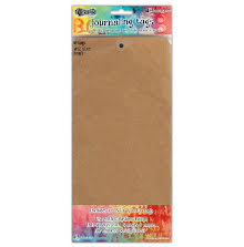 Dylusions Journal Tags 10/Pkg - Kraft #12