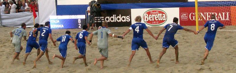 Beach soccer di Elisabetta Di Girolamo