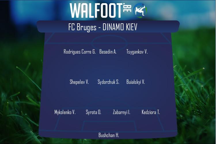 Dinamo Kiev (FC Bruges - Dinamo Kiev)