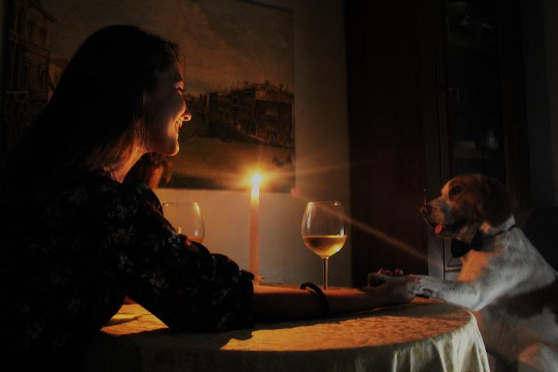 Amanti a lume di candela di Jelenoir