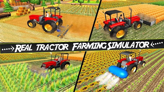 Drive Heavy Tractor Farming Simulator 3D Harvester - náhled