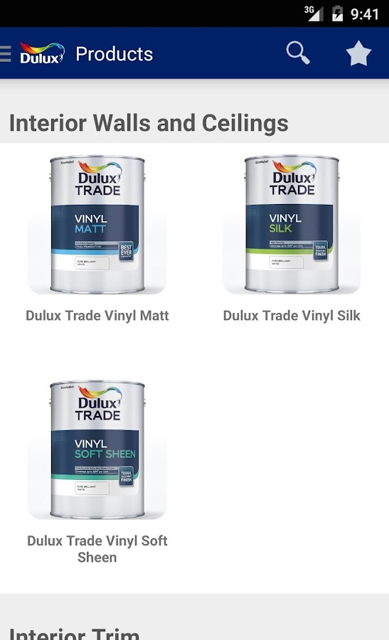Dulux Nigeria Visualizer- screenshot