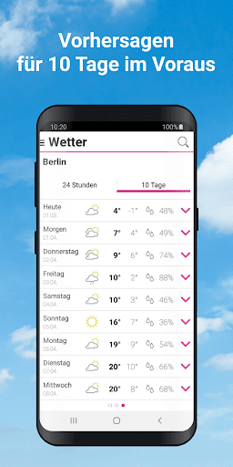 Wetter by t-online  screenshots 4