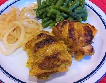 Easy Grilled Tandoori Chicken