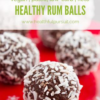 Grain-free Christmas Rum Balls
