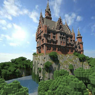 Building for Minecraft Castle - náhled