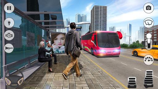 Coach Bus Simulator 2020: Modern Bus Drive 3D Game  Wallpaper 8