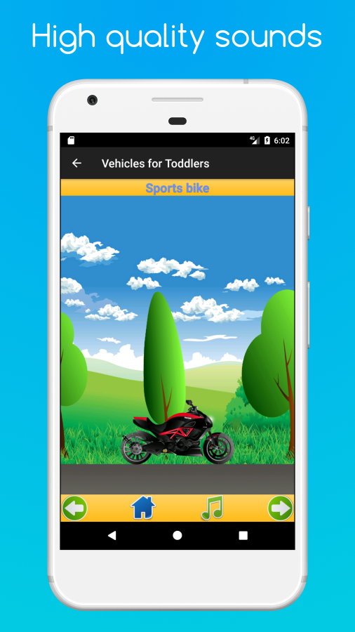 Cars for Toddlers- screenshot
