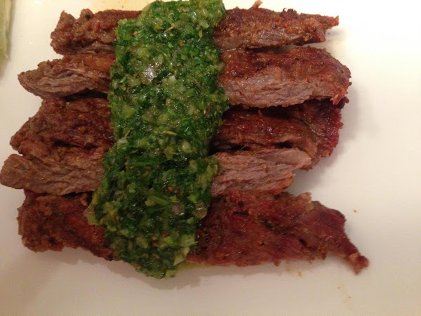 Flank Steak With Chimichurri Recipe
