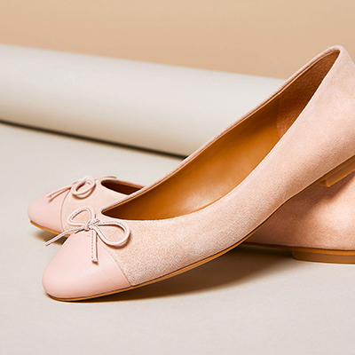 Narrow-fitting shoes