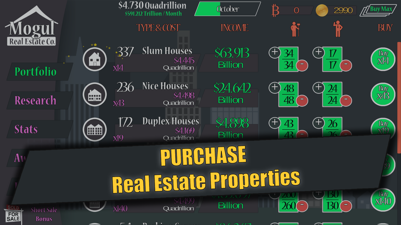 Real Estate Mogul- screenshot