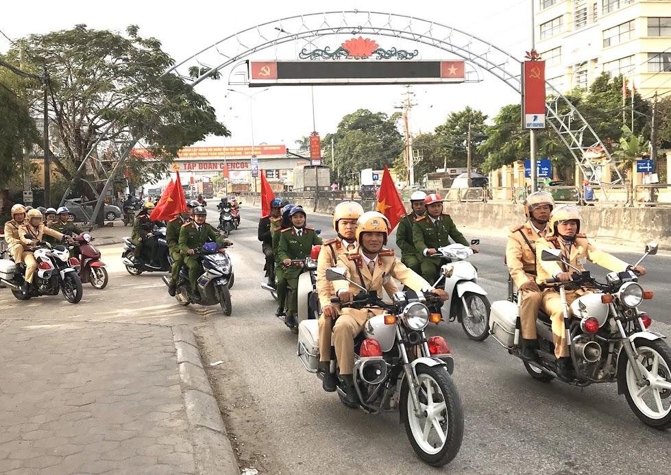 Công an huyện Quỳnh Lưu ra quân đợt cao điểm tấn công trấn áp tội phạm trước, trong, sau Tết nguyên đán Canh Tý 2020