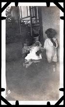 Photo: Tom Brandvold Album TBB184 / Evelyn and Winston Hansen.  Baby is likely their brother, Alfred Mayanrd Hansen