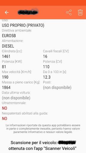 Scanner Veicoli  screenshots 7