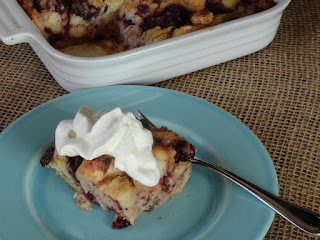 Classic Cranberry Bread Pudding Recipe