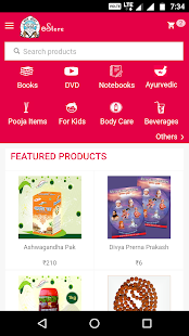 Ashram Store: Online Shopping- screenshot thumbnail