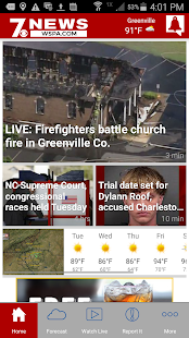 WSPA 7News- screenshot thumbnail