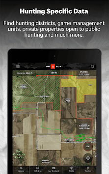 Download OnX Hunt Maps Hunting GPS Offline US Topo Maps APK - Us topo maps pro