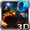 Deep Space 3D Free lwp icon