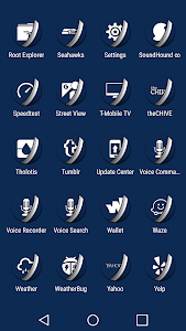 Naz Dal Blue - Icon Pack v1.6