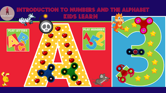 Introduction to numbers and the alphabet Screenshot