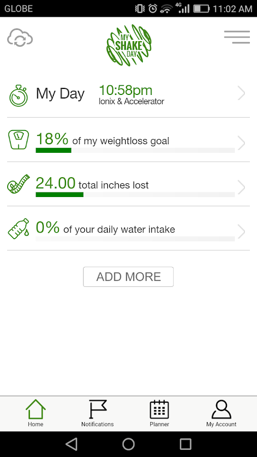 My Shake Day- screenshot