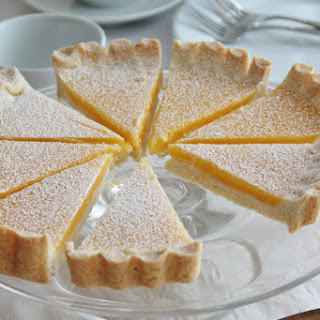 Lemon Tart with Coconut Shortbread Crust
