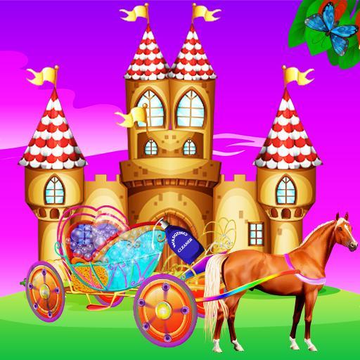 Princess Carriage Wash Salon – Repair & Cleaning (game)