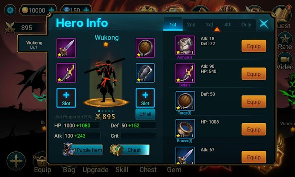 Hero Legend Shadow Stickman