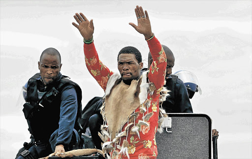 Maskandi singer Khulekani Mseleku, popularly known as Mgqumeni, who was believed to be dead and buried in 2009, has suddenly made a shocking reappearance Picture: TEBOGO LETSIE