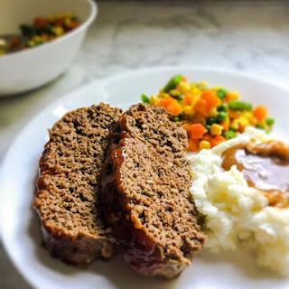 Easy Slow Cooker Meat Loaf.