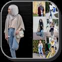 Hijab Jeans Fashion icon