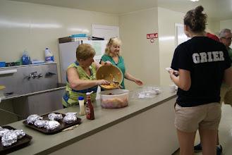 Photo: Patty and Kaye, the kitchen help!!